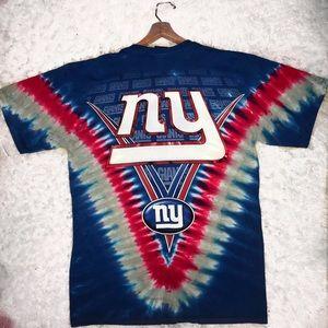 NFL Shirts - NFL NY Giants Football Tie Dye Shirt cc2a915825e